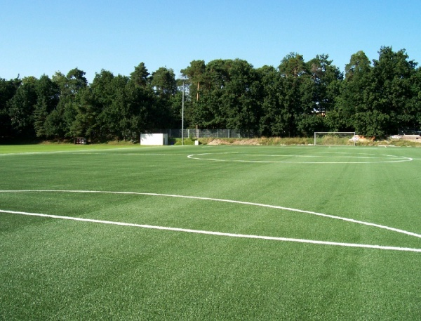 Playground Landscape Sports Field Renovation Synthetic Or Natural Grass Playground Landscape